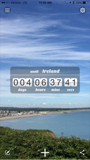 countdown to Ireland
